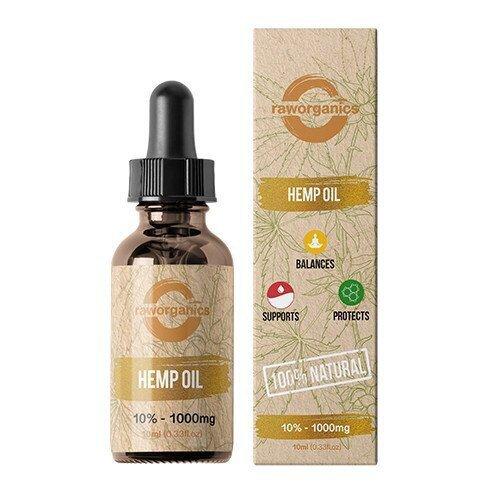 cbd olje raw organics